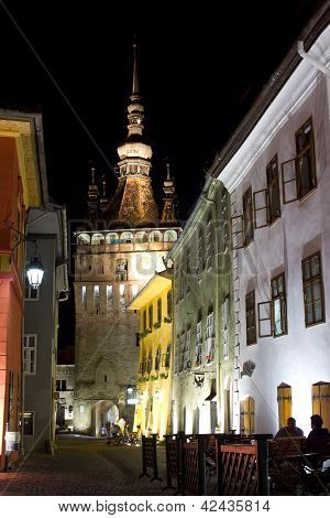 Sighisoara By Night