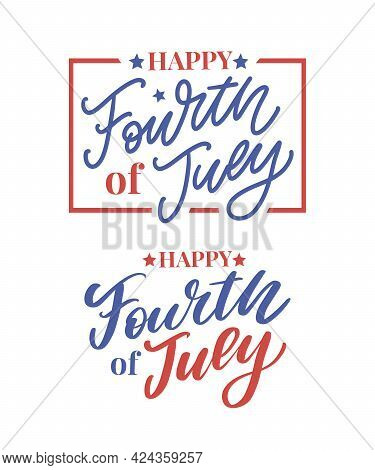 Fourth 4 Of July Stylish American Independence Day Design Fourth Of July