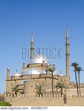 Mosque Of Muhammad Ali, Saladin Citadel Of Cairo. Egypt