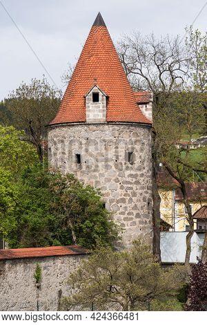 Medieval Round Tower - Freistadt, Austria