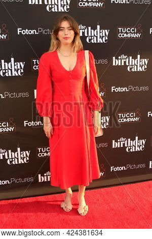 LOS ANGELES - JUN 16:  Clara McGregor at The Birthday Cake LA Premiere at the Fine Arts Theater on June 16, 2021 in Beverly Hills, CA