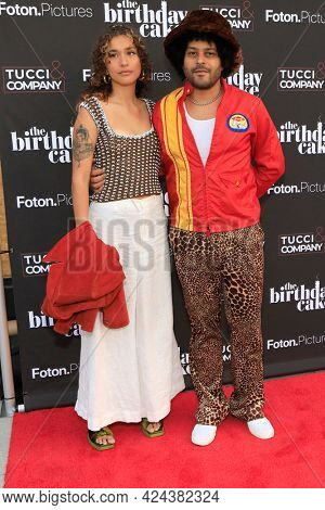 LOS ANGELES - JUN 16:  Simone Quiles, Twin Shadow at The Birthday Cake LA Premiere at the Fine Arts Theater on June 16, 2021 in Beverly Hills, CA