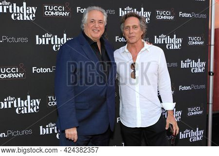 LOS ANGELES - JUN 16:  Nick Vallelonga, William Fichtner at The Birthday Cake LA Premiere at the Fine Arts Theater on June 16, 2021 in Beverly Hills, CA