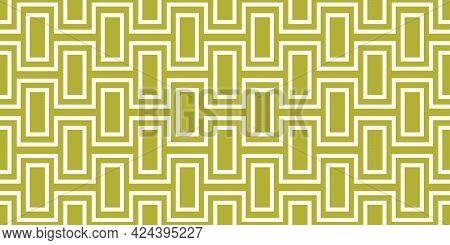 Repeating Mid-century Wall Pattern | Seamless 60s Mod Design | Geometric Retro Print