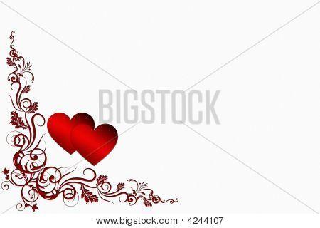 Valentine-Hintergrund