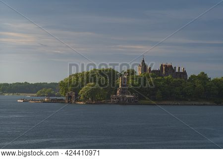Boldt Castle, A Major Landmark And Tourist Attraction, Is Located In The Thousand Islands Region Of