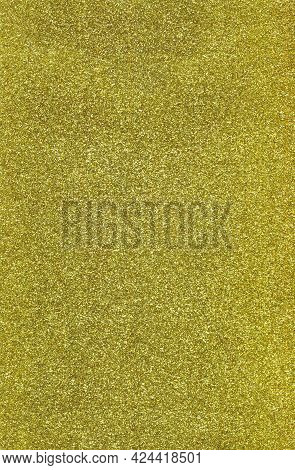 Sparkling Golden Glittery Background. Perfect For Luxury, Fashion, Holiday Designs