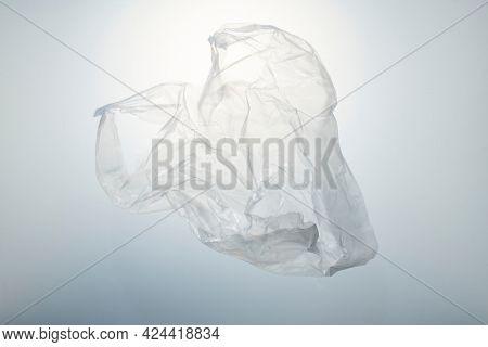 Single use plastic bag pollution