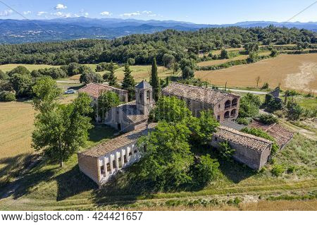 Church Of Sant Pau De Pinos Is Of Romanesque Origin, Although It Has Undergone Modifications Over Ti