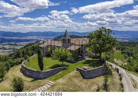 Hermitage Of Santa Lucia De Sobremunt, Under The Patronage Of Santa Llucia I St. Quiteria. From Cata