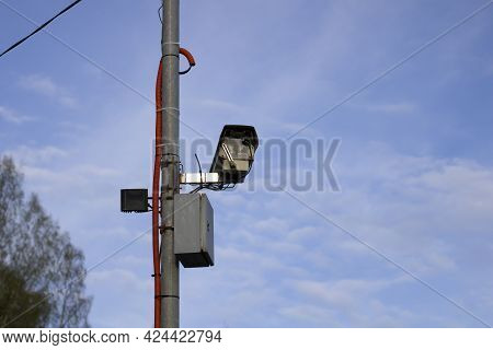 Camera For Photo And Video Recording Of Traffic Violations, Automated Control System