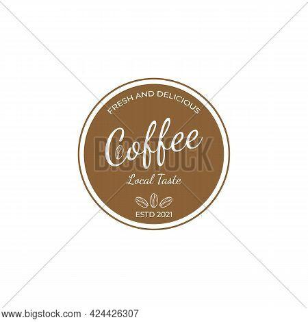 Best Coffee Shop Logo Design Template Vector Abstract Coffee Logo For Branding A Coffee Shop
