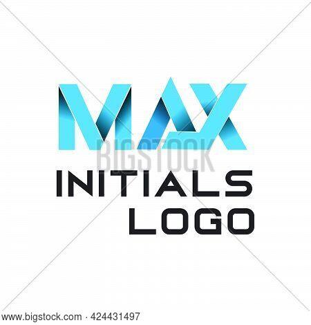 Max Alphabet Initials Logo Exclusive Design Inspiration