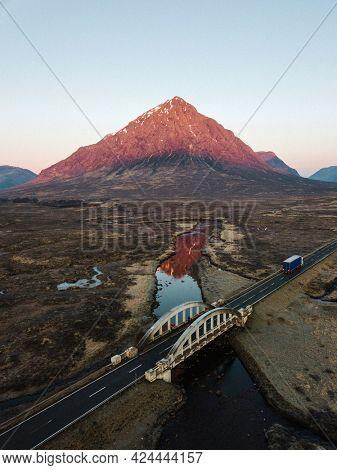 View of Glen Coe in Scotland