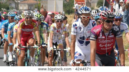 Cyclists In The Tour De France 2