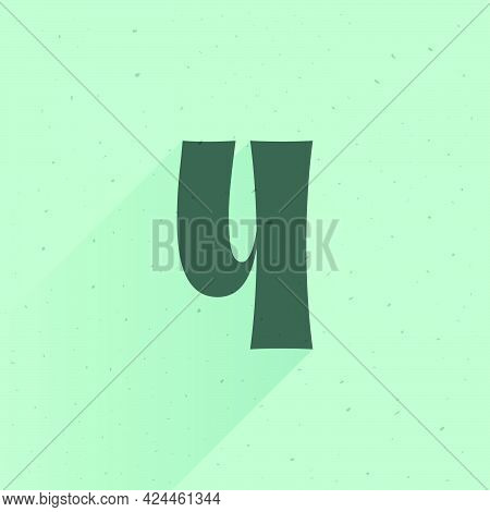 Number Four Logo For Your Fun And Happy Design Projects. You'll Get A Playful Sign For Fun Advertisi