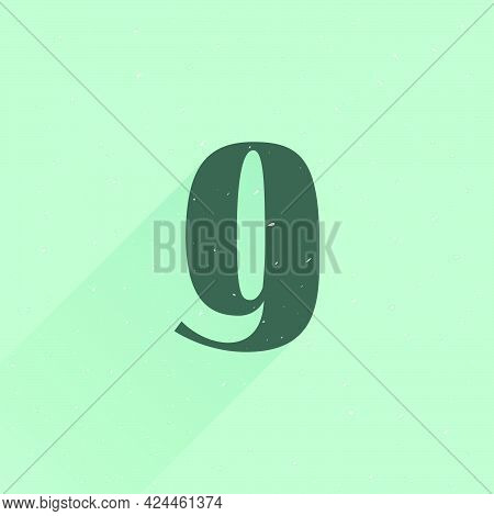 Number Nine Logo For Your Fun And Happy Design Projects. You'll Get A Playful Sign For Fun Advertisi
