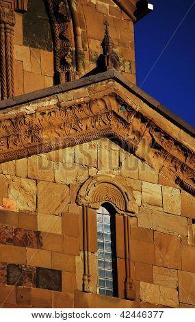 Georgia - Mtskheta - Sveticxoveli Castle-cathedral, One Of The Symbols Of Georgia