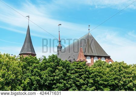 Kaliningrad, Russia-june 5, 2021: The Cathedral.