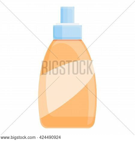 Korean Hair Spray Icon. Cartoon Of Korean Hair Spray Vector Icon For Web Design Isolated On White Ba