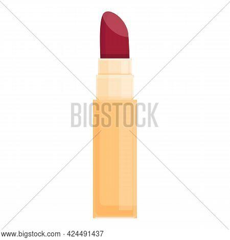 Korean Long Lasting Lipstick Icon. Cartoon Of Korean Long Lasting Lipstick Vector Icon For Web Desig