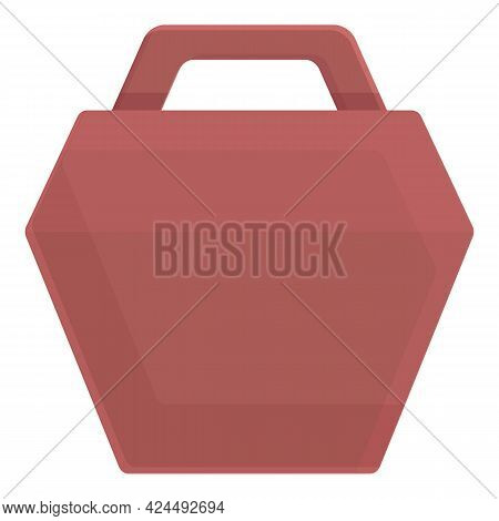 Cardboard Package Icon. Cartoon Of Cardboard Package Vector Icon For Web Design Isolated On White Ba