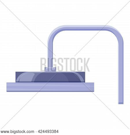 Shower In Fitness Center Icon. Cartoon Of Shower In Fitness Center Vector Icon For Web Design Isolat