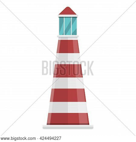 Lighthouse Icon. Cartoon Of Lighthouse Vector Icon For Web Design Isolated On White Background