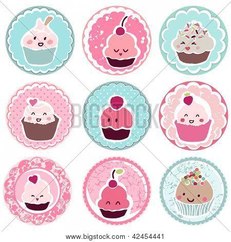 cute cupcake tags