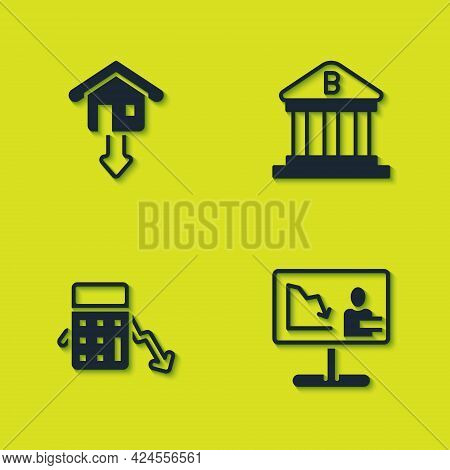 Set Falling Property Prices, Global Economic Crisis News, Calculation Of Expenses And Bank Building