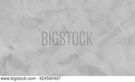 Moving Crumpled Paper Background With Stop Motion Effect. Animation. Abstract Texture With A Piece O