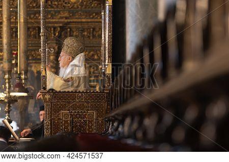 Festive Liturgy On The Day Of The Holy Trinity