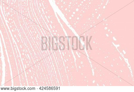 Grunge Texture. Distress Pink Rough Trace. Gorgeous Background. Noise Dirty Grunge Texture. Valuable