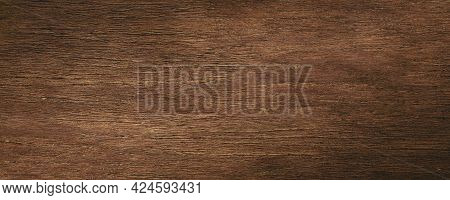 Wood Texture Background. Brown Wooden Surface Wallpaper. 3D Rendering.