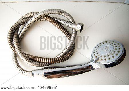Old Shower Hose, Old Plumbing Hose Pipes