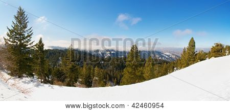 bogus basin ski area in boise, idaho poster