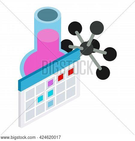 Experimental Equipment Icon. Isometric Illustration Of Experimental Equipment Vector Icon For Web