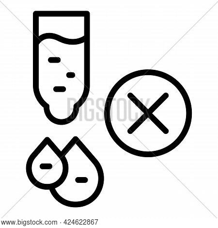 Regulated Products Dropper Icon. Outline Regulated Products Dropper Vector Icon For Web Design Isola