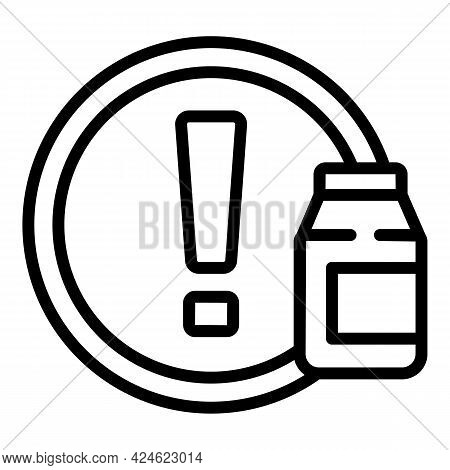 Regulated Products Quality Icon. Outline Regulated Products Quality Vector Icon For Web Design Isola