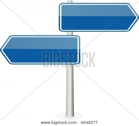 Two Road Directions