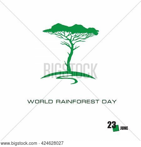 The Calendar Event Is Celebrated In June - World Rainforest Day
