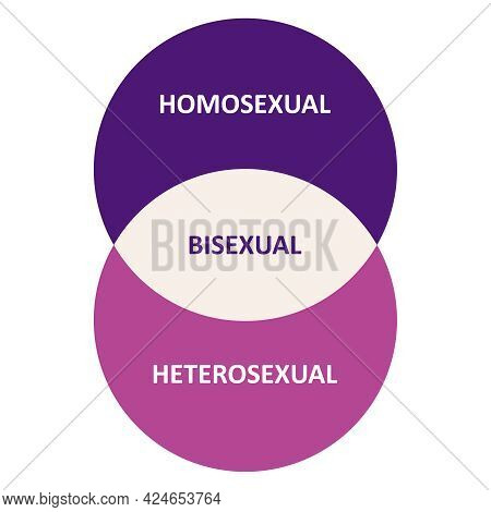 Infographics About Sexual Orientation. Concept Of Sexuality