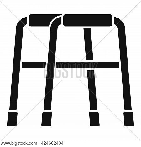Walker Icon. Simple Illustration Of Walker Vector Icon For Web Design Isolated On White Background