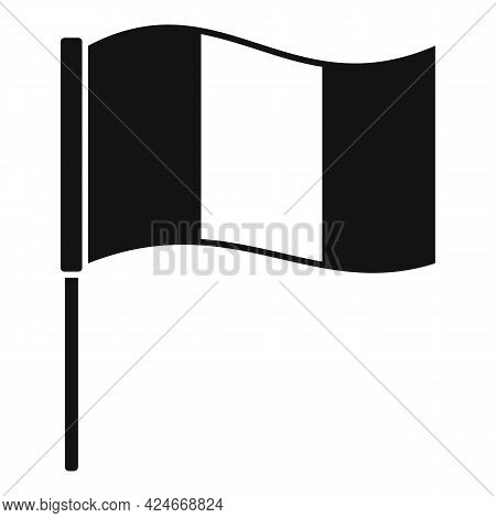 Hurling Irish Flag Icon. Simple Illustration Of Hurling Irish Flag Vector Icon For Web Design Isolat