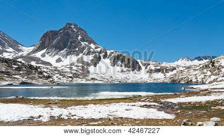 Alpine Lake Scenery