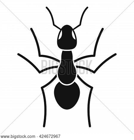 Teamwork Ant Icon. Simple Illustration Of Teamwork Ant Vector Icon For Web Design Isolated On White