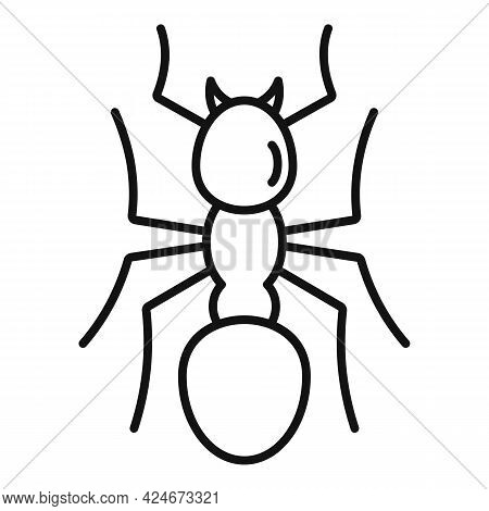 Team Ant Icon. Outline Team Ant Vector Icon For Web Design Isolated On White Background