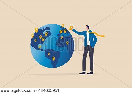 Global Business Expansion, Open Company Branches, Franchise In New Location To Cover All Continent,