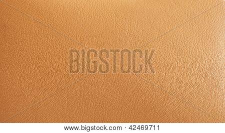 High Resolution Leather Beige Background