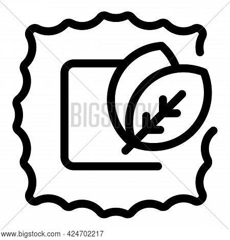 Ravioli Meal Icon. Outline Ravioli Meal Vector Icon For Web Design Isolated On White Background